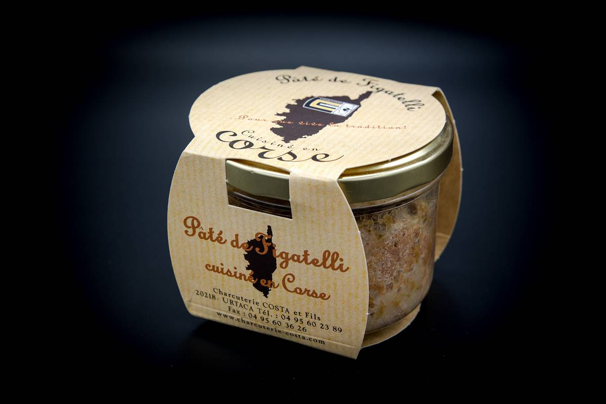 Pâté of Figatelli 180g