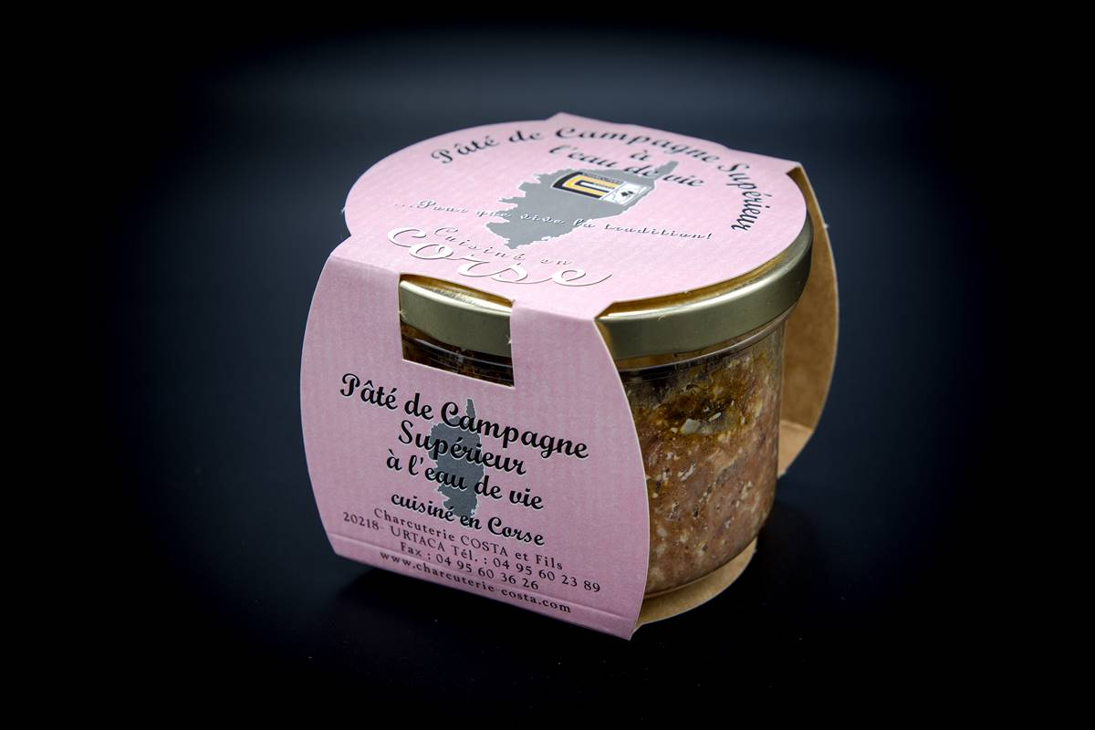 Superior pâté of pork in the brandy 180g